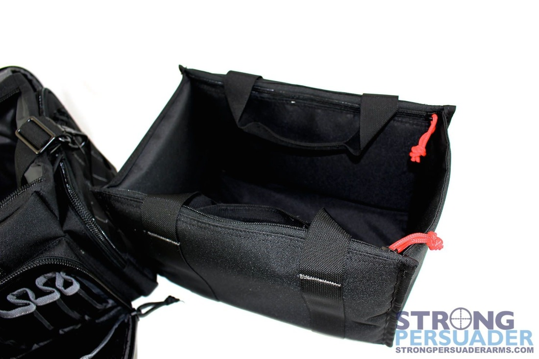 gps tactical range bag with ammo tote black 110