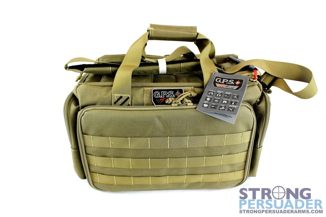 gps tactical range bag with ammo tote green 105