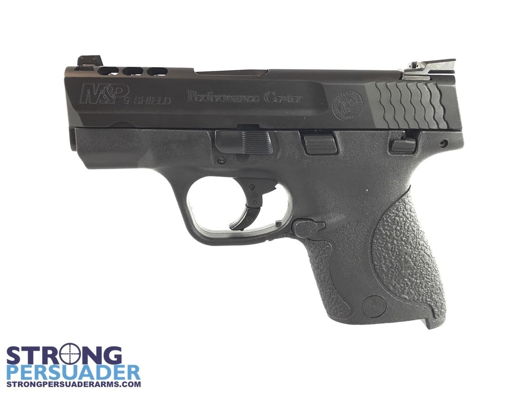 M P Ported Shield 9mm Of Smith And Wesson Performance Center Ported M P 9 Shield